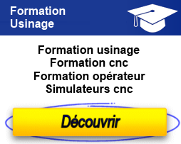 Formation usinage